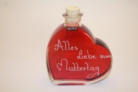 Herzflasche 200ml Sauerkirschlikör