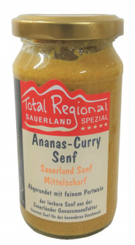 Sauerland Senf- Ananas-Curry-Senf