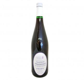 Sauerländer Pflaumenwein 12,5% Vol.
