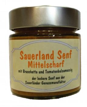 Sauerlandsenf-Bruschetta